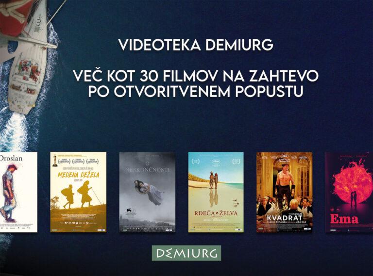 Demiurgovi naslovi odslej tudi na spletu!